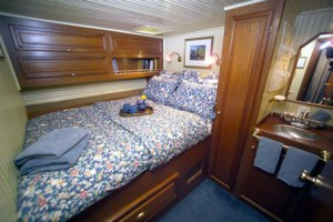 Our New York Yacht's Stateroom