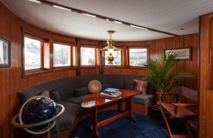 The Library on our Yacht