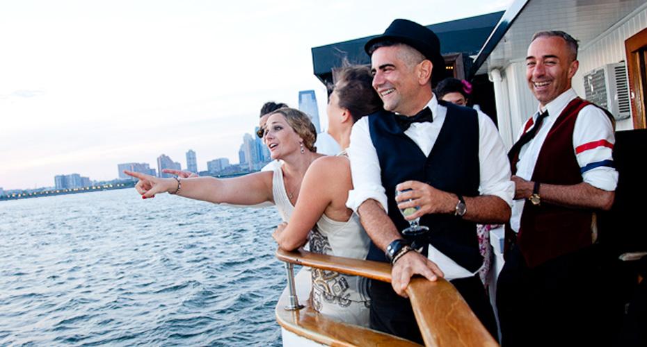 A NYC Wedding at Sea