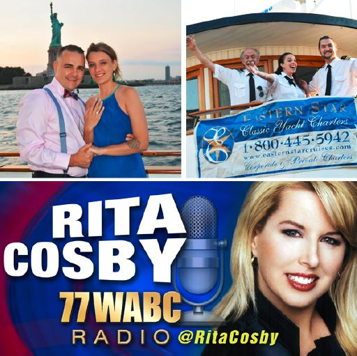 Eastern Star Yacht Charters Featured on The Rita Cosby Show!